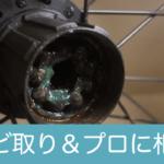クロスバイクのカセットフリーハブ内部を見てみよう(後編)