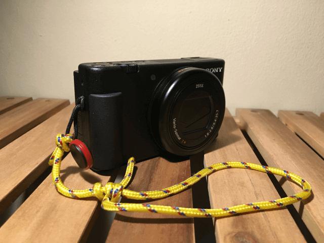 材料費20円。格安でカメラ用ハンドストラップを自作する方法